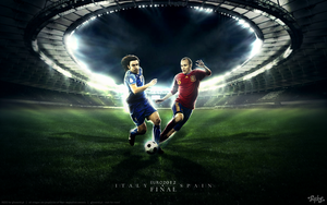 Euro 2012 - final by gbindis
