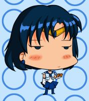 Sailor Mercury Cranky Chibi fn by CrimsonWalker