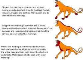 Alohilani Common Markings by rtsbts