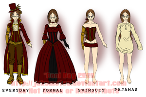 Indax Outfit Sheet by FlantsyFlan