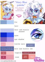 Mary palette by vanessasan