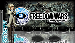 Freedom Wars Born without Choice PS Vita Wall by Dusean17