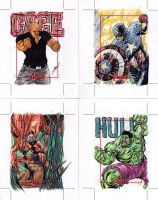 Avengers AP6 (Cage, Capt. America, Ant man, Hulk) by try1001me