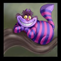 CHESHIRE CAT by Tristiaa