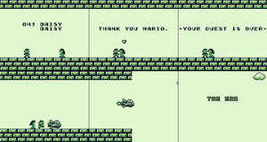Super Mario Land Meme 1: Happy Ending by JeshuaTheKnight