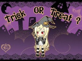 Trick or Treat? by p-inkapple