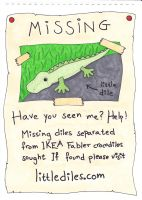 Missing Dile Poster by jenniology