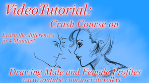 Crash Course on Drawing Male and Female Profile! by Dex91