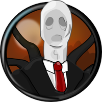 Slender Man Icon by Obcodis