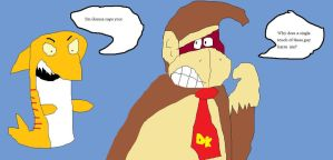 DK's Biggest Fear by Tommypezmaster