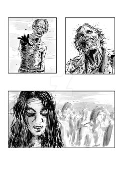 Walkers - Comic Panels by SimonArtGuyBreeze