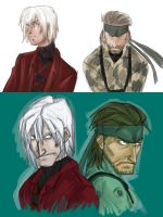 dante snake old and new by Oboe