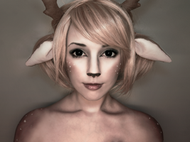 Dear deer by Helen-Stifler
