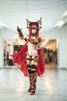 Alexstrasza the lifebinder Cosplay by TineMarieRiis