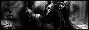 Death bw by Skull--Kid