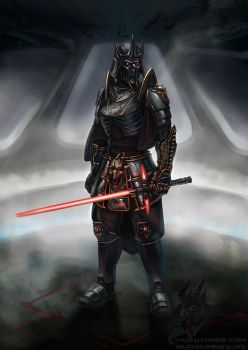 Darth Euzeriat by Inkary