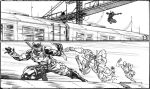 Snake Eyes 13 preview panels by RobertAtkins