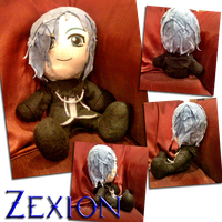 Zexion Plush by Lavender-Star
