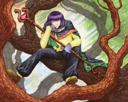 Treed Trickster by irk