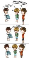 exo mini comic - marshmallow by sorasti