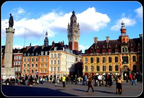 La Grand Place  - Lille by ross4n4
