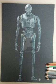 K-2SO from Rogue One by mgclz