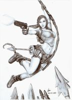 tomb raider lara croft by fatihsultan