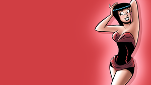 Veronica Lodge by Dan DeCarlo (1080p wallpaper) by DLToon
