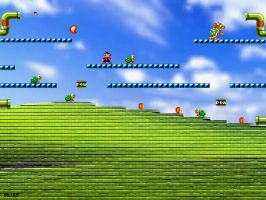 Windows Xp wallpaper parody II by PhantomxLord
