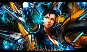 Space Girl by Bleyxer