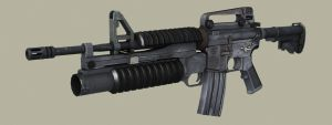 M4 rifle ingame by floydworx