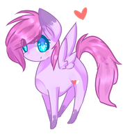 :PC: Mini Chibi Pony Vixie! by vanilla-button