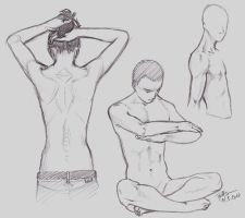anatomy sketches 20100311 by Puffsan