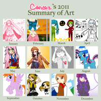 2011 Summary of Art by PickledCandyPants07
