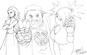 All in the Family - Akimichi Style =Pencils= by SentouRyoku