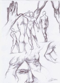 Sketches by Dayald