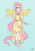 Fluttershy Cosplay by LovelyKouga