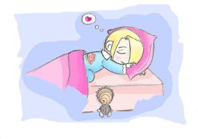 Good night, Deidara.. by faQy