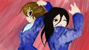 Yui-chan and not get the Mio-chan by Juli-sempaii