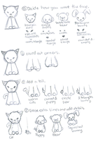 I Cant Draw Tutorial-Animals2 by Hitori-The-Bitch
