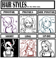 Hair Styles Meme by A-dellaMorte