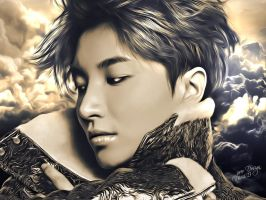 LeeTeuk Painting by Jover-Design