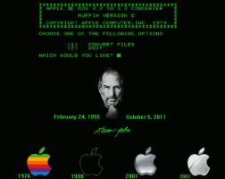 steve jobs tribute by DeviantLaura