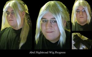 Abel Nightroad Wig Progress by sjbonnar