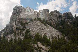 Mount Rushmore by eagle79