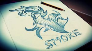 Sketch Smoke by nahidmars