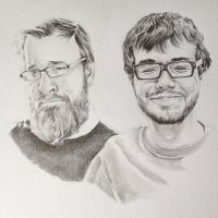 Jack and Ray from Achievement Hunter by PatrickRyant