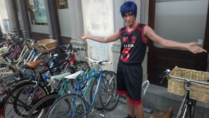 Look at all the Bikes I've Stolen :D by KirigayaK