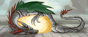 Solaire Dragon by Rhinorocket