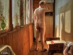 Nude Standing on a Balcony Updated by t-maker